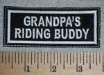 2648L - Grandpa's Riding Buddy - Embroidery Patch