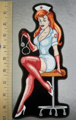 3095 CP - Sexy Nurse - Back Patch - Embroidery Patch