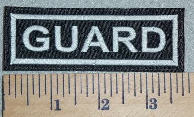 3068 L - Guard - Embroidery Patch