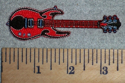 2687 N - Guitar - Embroidery Patch