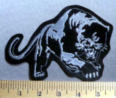 763 L - Black Panther-  Embroidery Patch