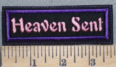 2516 L - Heaven Sent - Purple - Embroidery Patch