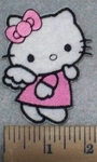 3220 C - Hello Kitty - Angel - Embroidery Patch