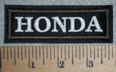 2752 L - Honda - Brown Border - Embroidery Patch