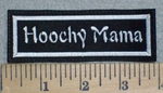 3243 L - Hoochy Mama - Embroidery Patch
