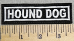 2950 L - Hound Dog - Embroidery Patch