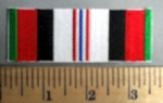 767 S - Afghan Service Ribbon - Embroidery Patch