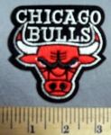 736 C-  Chicago Bulls -  Embroidery Patch