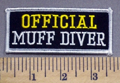 124 S - OFFICIAL Muff Diver - Embroidery Patch