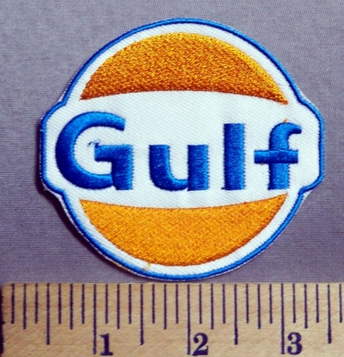 743 C - Gulf - Embroidery Patch