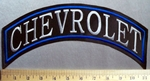 774 L - Chevrolet Top Rocker -  Embroidery Patch