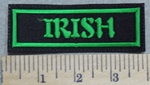 2905 L - Irish - Green - Embroidery Patch
