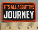 3005 G - It's All About The Journey- Embroidery Patch
