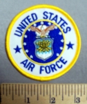 2956 R - United States Air Force - Round - Embroidery Patch