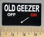 1937 CP - OLD GEEZER - ON - Embroidery Patch