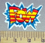 2354 C - POW - Embroidery Patch