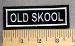 1744 L -Old Skool- Embroidery Patch