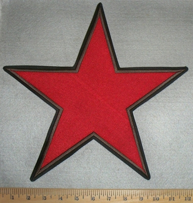 2880 L - Large Red Star - Back Patch