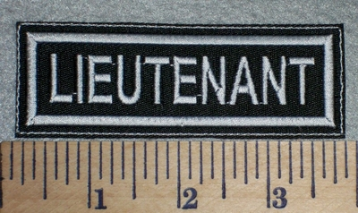 2652 L - Lieutenant - Embroidery Patch