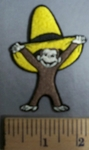 1652 C - Curious George - Embroidery Patch
