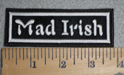 3389 L - Mad Irish - Embroidery Patch