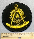 2244 W - Mason Patch - Embroidery Patch