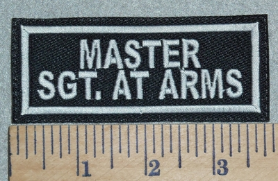 3083 L - Master Sgt. At Arms - Embroidery Patch