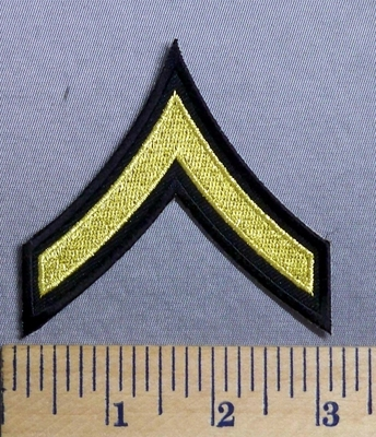 3284 S Private Army Stripe - Embroidery Patch