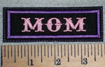 2659 L - Mom - Purple - Embroidery Patch