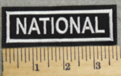 2996 L - National - Embroidery Patch