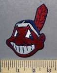 2536 C - Cleveland Indian Logo - Embroidery Patch