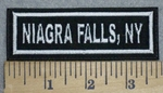 3401 L - Niagra Falls, NY - Embroidery Patch