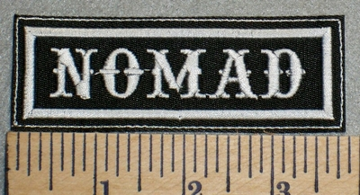 2476 L - NOMAD - Embroidery Patch