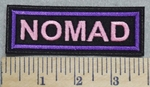 2899 L - NOMAD - Pink - Embroidery Patch