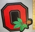 "2024 L - ""O"" For Ohio State With Buckeye - Large Back Patch - Embroidery Patch"