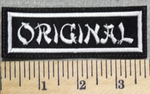 2897 L - Original - Embroidery Patch