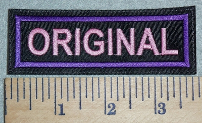 3041 L - Original - Pink - Embroidery Patch