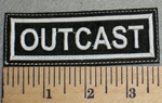 2486 L - Outcast - Embroidery Patch
