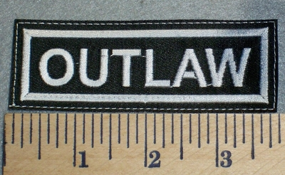 2483 L - Outlaw - Embroidery Patch