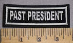 916 L - Past President Embroidered Patch