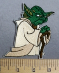 2450 C - Yoda - Star Wars - Embroidery Patch