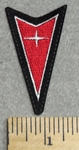 2931 L - Pontiac Arrow Logo - 3 Inch Height  - Embroidery Patch