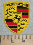 3110 C -  discontinued Porsche Logo - Embroidery Patch