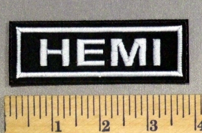 1719 L - HEMI - Embroidery Patch