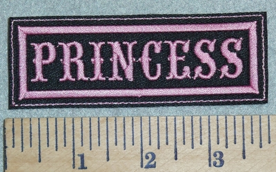 2998 L - Princess - Pink - Embroidery Patch