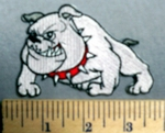 1881 C - Bulldog - Embroidery Patch