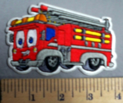 161 C - Fire Truck - Embroidery Patch