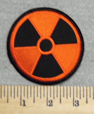 3001 W - Radiation Patch - Embroidery Patch