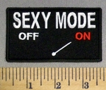 2251 CP - Sexy Mode - ON - Embroidery Patch