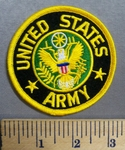 2665 R - United States Army - Round - Embroidery Patch